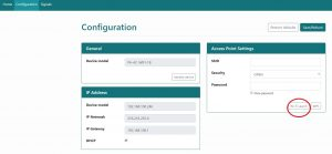 Webserver airconwithme configuration